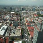 Vistas desde el rascacielo más emblemático de la ciudad
