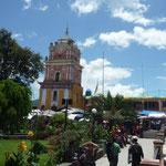 Plaza principal de Sololá