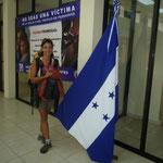 Oficina de migración en Honduras