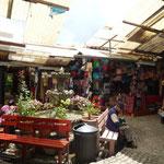 Mercado de artesanías de Antigua