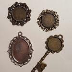 Amulett in 4 verschiedenen Ausführungen, befüllbar mit Bild oder Text & Harz oder mit Micropummel inkl. Band, Preis je nach Aufwand