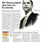 Barack Obama in den Salzburger Nachrichten
