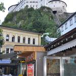 Blick auf die Festung von Kufstein