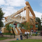 The 2008 temporary pavilion by Frank Gehry