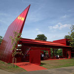 The 2010 temporary pavilion by Jean Nouvel