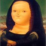 Fernando Botero, La Gioconda, 1977