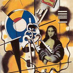 Fernand Leger, Mona Lisa with Keys, 1930