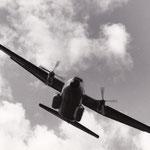 Le Transall C160 mis en service dans l'armée de l'air en 1965.