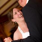Hochzeitsfoto vom Brauttanz