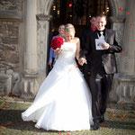 Hochzeitsfoto von Brautpaar in Münster