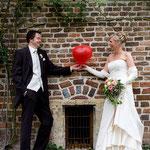 Hochzeitsfotos von Brautpaar