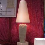 Lampe en pierre de Saint Gens.