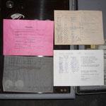 Alle Unterlagen waren noch im Schaltkasten vorhanden!!!