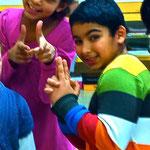 Traumsuse fängt die Zeit ein Kindertanztheaterprojekt