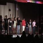 Ein gelungenes Tanztheaterstück - Hinter den Kulissen - sie haben es geschafft