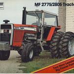Massey Ferguson 2775 und 2805