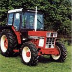 IHC 745-SA Allradtraktor mit Comfort-2000 Kabine (Quelle: Hersteller)