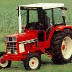 IHC 743 Traktor mit Kabine (Quelle: Hersteller)