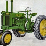 John Deere Model G Traktor (Quelle: John Deere)
