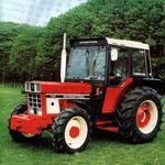 IHC 743 Allradtraktor mit Comfort-2000 Kabine (Quelle: Hersteller)