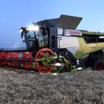 Technische Daten Claas Mähdrescher ab Bj  2020 - tractorbook