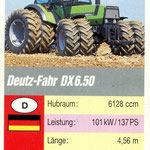 Deutz DX 6.50 Quartett