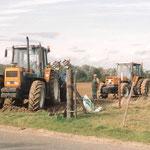Renault Traktoren im Einsatz