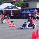 Fabian Meyer gab Gas und landete auf einem beachtlichen 11. Platz in Klasse 4