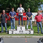 Klasse 6: 1. Robin Seidlitz, 2. Chris Freese beide MC Blau-Weiß Sanitz, 3. Daniel Hutsky (MSC Berlin)