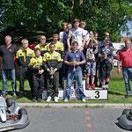 Mannschaftswertung: 1. MC Blau-Weiß Sanitz, 2. BSC Aukrug, 3. MSC Berlin