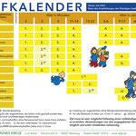 Der deutsche Impfkalender der STIKO