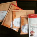 Päckchen vor ihrer Abreise durch Mavera