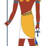Thot, Gott der Weisheit, des Mondes, des Westens.