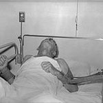 Patient mit Tollwut