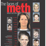 Faces of Meth, Plakat der Polizei