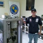 PU5TAN na sua visita oficial ao Museu do Radioamador.
