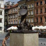 Denkmal der Warschauer Seejungfrau