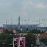Fußballstadium zur EM 2012