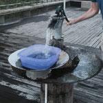 Thermalquelle O Tinteiro, 44 Grad warmes Thermalwasser