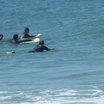 Bodyboarden in Ofir