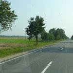 Strasse nach Šiauliai