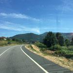 Unterwegs nach Ourense