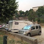Parkplatz in Tui