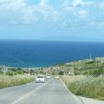 Fahrt Richtung Porto Torro