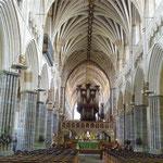 die Kathedrale von Exeter