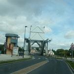 Die Pegasusbrücke bei Bénouville
