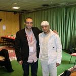en compagnie de mon  très cher frère Mounnir El Moumni (Le RAPPEL) Chamberry Mai 2010
