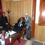 Alger Janvier 2013 en compagnie de Abou ratib