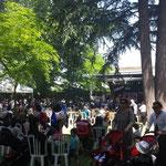 Un public en nombre mashallah !! Journée Culturelle à Lagrande Mosquée de Lyon Juin 2013