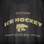 Western Ice Hockey screen print